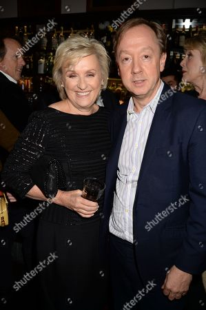 Stock Image of Tina Brown and Geordie Greig