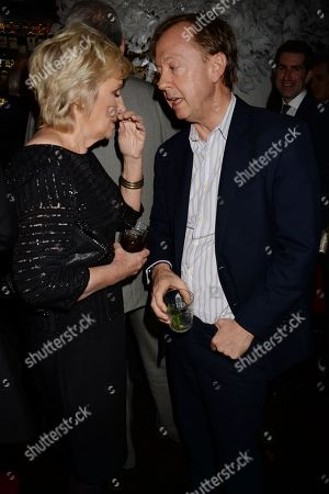 Stock Picture of Tina Brown and Geordie Greig