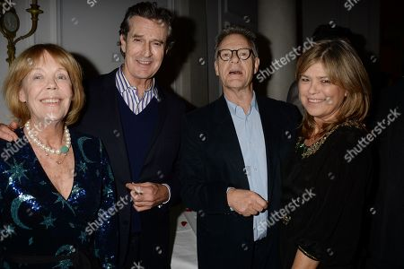 Stock Picture of Emma Soames, Rupert Everett, Robert Fox and Guest