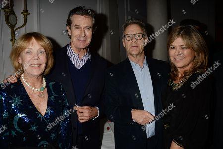 Stock Image of Emma Soames, Rupert Everett, Robert Fox and Guest
