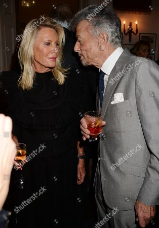 Carole Bamford and Nicky Haslam