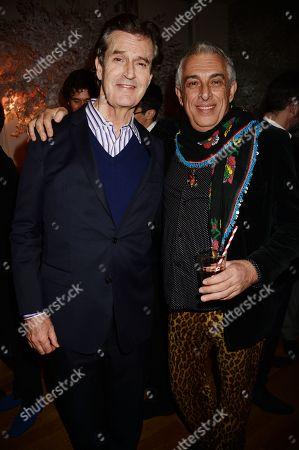Rupert Everett and Rifat Ozbek