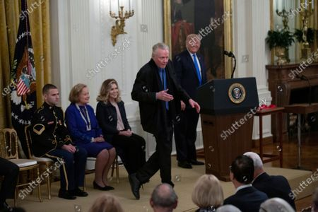 Editorial image of National Medal of Arts and the National Humanities Medal presentations, The White House, Washington DC, USA - 21 Nov 2019