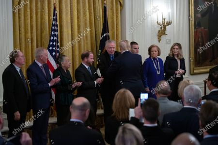 Editorial photo of National Medal of Arts and the National Humanities Medal presentations, The White House, Washington DC, USA - 21 Nov 2019