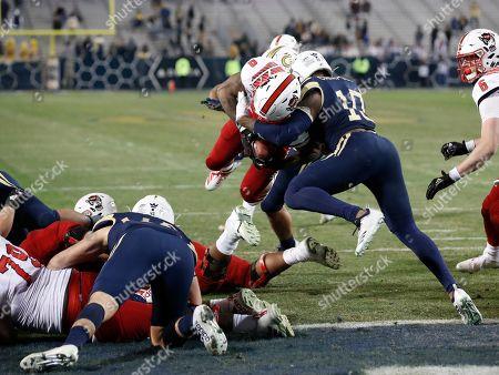 Editorial image of NC State Georgia Tech Football, Atlanta, USA - 21 Nov 2019
