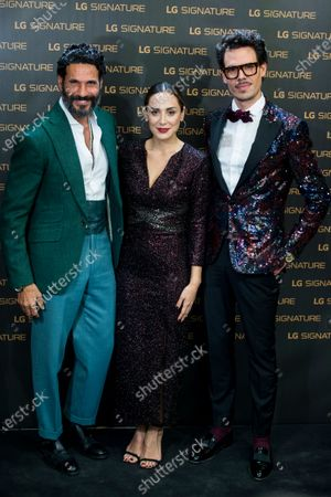 Oscar Higueras, Tamara Falco and Juan Avellaneda