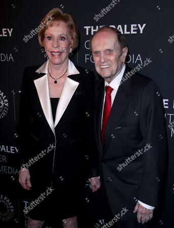 Carol Burnett and Bob Newhart