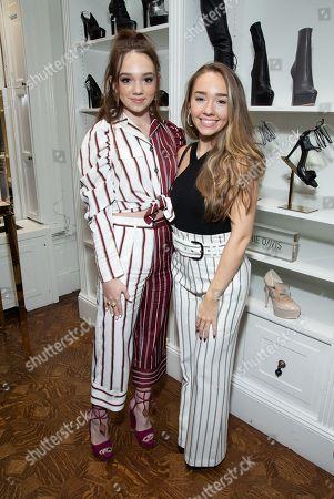 Ruby Jay and Holly Taylor