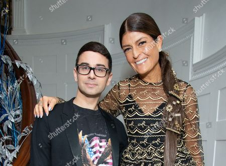 Stock Picture of Christian Siriano and Ruthie Davis