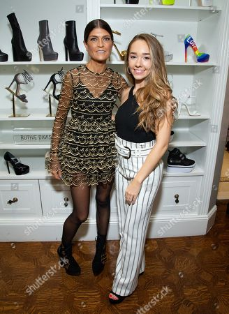 Stock Picture of Ruthie Davis and Holly Taylor