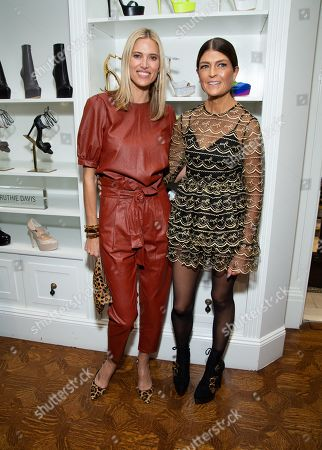 Stock Picture of Kristen Taekman and Ruthie Davis