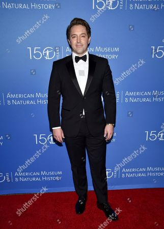 Stock Picture of Beck Bennett attends the American Museum of Natural History's 2019 Museum Gala, in New York