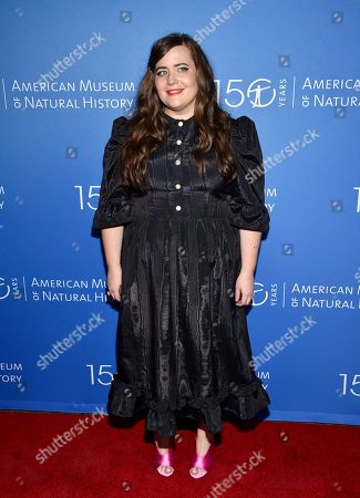 Aidy Bryant attends the American Museum of Natural History's 2019 Museum Gala, in New York