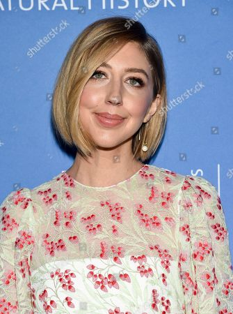 Stock Photo of Heidi Gardner attends the American Museum of Natural History's 2019 Museum Gala, in New York