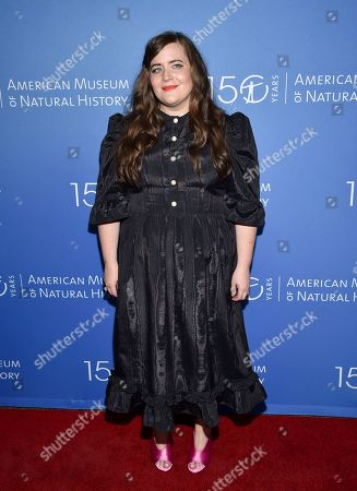 Stock Image of Aidy Bryant attends the American Museum of Natural History's 2019 Museum Gala, in New York