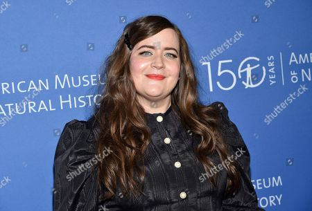 Stock Photo of Aidy Bryant attends the American Museum of Natural History's 2019 Museum Gala, in New York
