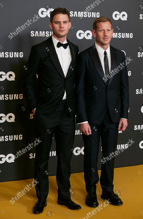 Stock Image of Jeremy Irvine and Paul Andrew