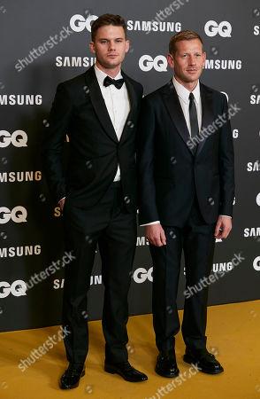 Jeremy Irvine and Paul Andrew