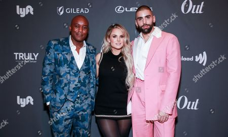 Editorial picture of Out Magazine's Out100 event presented by Lexus, New York, USA - 21 Nov 2019