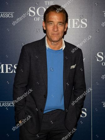 """Clive Owen attends a special screening of """"The Song of Names"""", hosted by Sony Pictures Classics and The Cinema Society, at Regal Essex Crossing, in New York"""