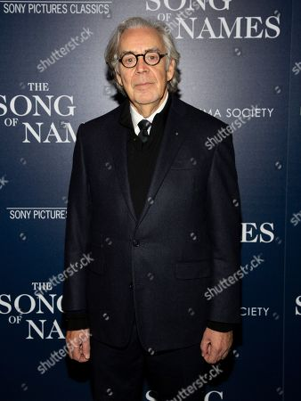 """Howard Shore attends a special screening of """"The Song of Names,"""" hosted by Sony Pictures Classics and The Cinema Society, at Regal Essex Crossing, in New York"""