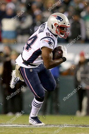 New England Patriots tight end Ben Watson (84) in action against the Philadelphia Eagles during an NFL football game, in Philadelphia. The Patriots defeated the Eagles 17-10