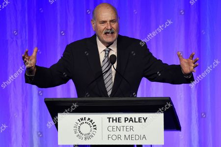 """Rob Reiner addresses the crowd at """"The Paley Honors: A Special Tribute to Television's Comedy Legends"""" at the Beverly Wilshire Hotel, in Beverly Hills, Calif"""