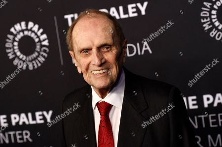 "Bob Newhart poses at ""The Paley Honors: A Special Tribute to Television's Comedy Legends"" at the Beverly Wilshire Hotel, in Beverly Hills, Calif"