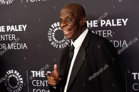 "Jimmie Walker poses at ""The Paley Honors: A Special Tribute to Television's Comedy Legends"" at the Beverly Wilshire Hotel, in Beverly Hills, Calif"