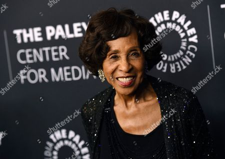 """Marla Gibbs poses at """"The Paley Honors: A Special Tribute to Television's Comedy Legends"""" at the Beverly Wilshire Hotel, in Beverly Hills, Calif"""