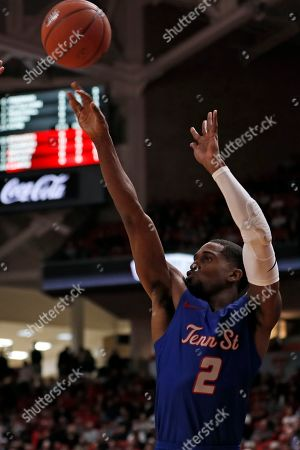 Editorial photo of Tennessee St Texas Tech Basketball, Lubbock, USA - 21 Nov 2019