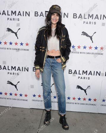 Editorial picture of PUMA x Balmain Launch Event, Arrivals, Los Angeles, USA - 21 Nov 2019