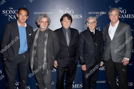 Clive Owen, Francois Girard (Director), Robert Lantos (Producer), Howard Shore (Composer), Tom Bernard (Co-Pres SPC)