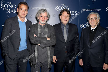 Editorial picture of Sony Pictures Classics and The Cinema Society host a special screening of 'The Song of Names', New York, USA - 21 Nov 2019