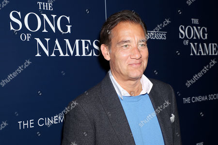 Editorial image of Sony Pictures Classics and The Cinema Society host a special screening of 'The Song of Names', New York, USA - 21 Nov 2019