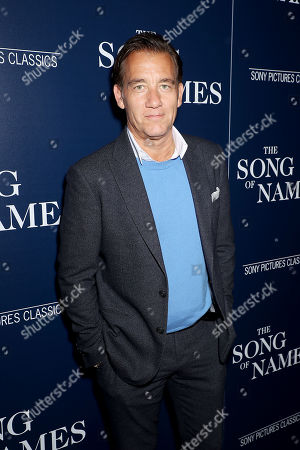 Editorial photo of Sony Pictures Classics and The Cinema Society host a special screening of 'The Song of Names', New York, USA - 21 Nov 2019