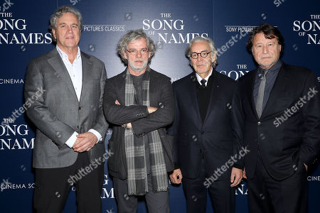 Tom Bernard (Co-Pres SPC), Francois Girard (director), Howard Shore (Composer), Robert Lantos (Producer)