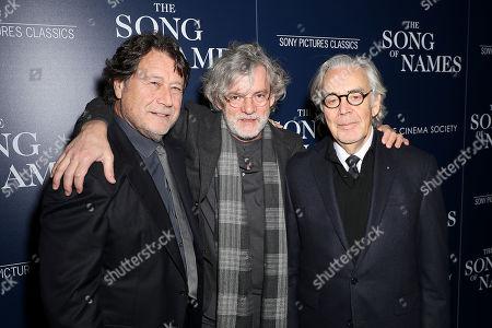 Robert Lantos (Producer), Francois Girard (Director), Howard Shore (Composer)