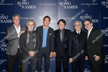 Stock Photo of Tom Bernard (Co-Pres SPC), Francois Girard (director), Clive Owen, Robert Lantos (Producer), Howard Shore (Composer), Michael Barker (Co-Pres SPC)