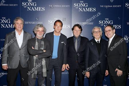 Tom Bernard (Co-Pres SPC), Francois Girard (director), Clive Owen, Robert Lantos (Producer), Howard Shore (Composer), Michael Barker (Co-Pres SPC)