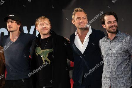 Ian Somerhalder, Rupert Grint, Jude Law, Daniel Logan