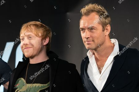Rupert Grint and Jude Law
