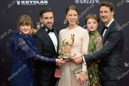 Stock Picture of Lena Schoemann, Elyas M Barek, Jessica Schwarz, Jella Haase, Florian David Fitz