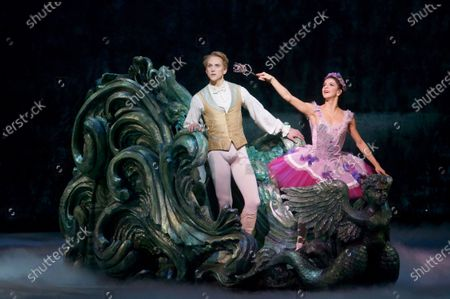 Mayara Magri as Lilac Fairy, David Hallberg as Florimund