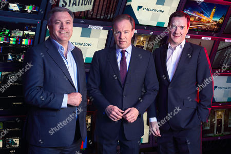 Ed Balls, Host Tom Bradby and George Osborne