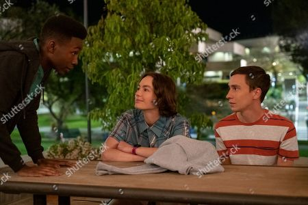 Niles Fitch as Lacrosse Sam, Brigette Lundy-Paine as Casey Gardner and Keir Gilchrist as Sam Gardner