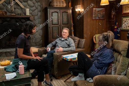 Rabia Rashid Writer/Creator, Michael Rapaport as Doug Gardner and Jennifer Jason Leigh as Elsa Gardner