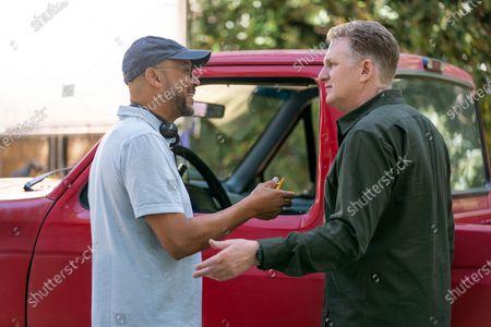 Ken Whittingham Director and Michael Rapaport as Doug Gardner