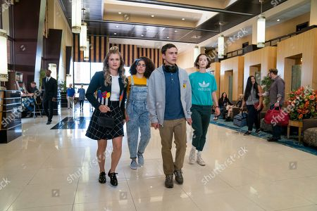 Editorial photo of 'Atypical' TV Show Season 3 - 2019