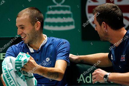 Editorial image of Davis Cup Finals by Rakuten, Day 6, Tennis, La Caja Magica, Madrid, Spain - 23 Nov 2019